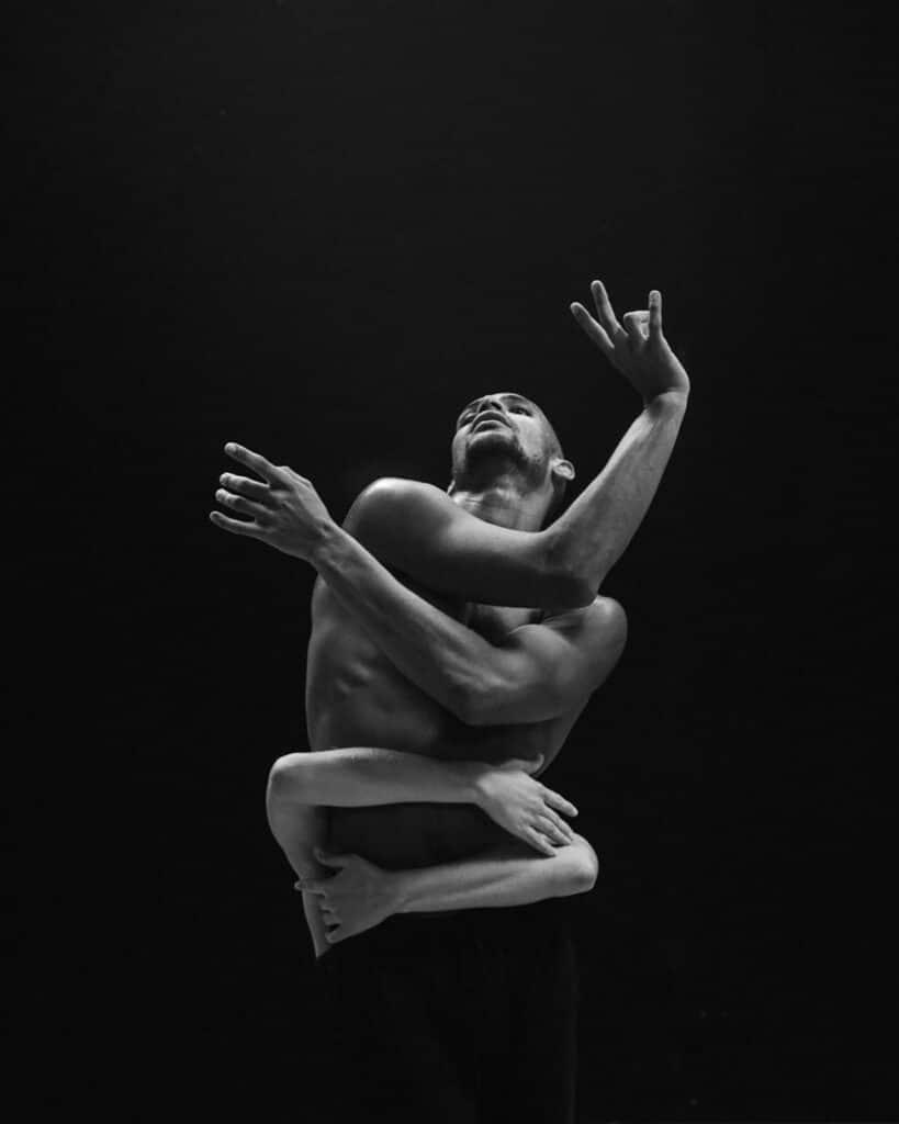 josh rose black and white dancer tainted magazine article