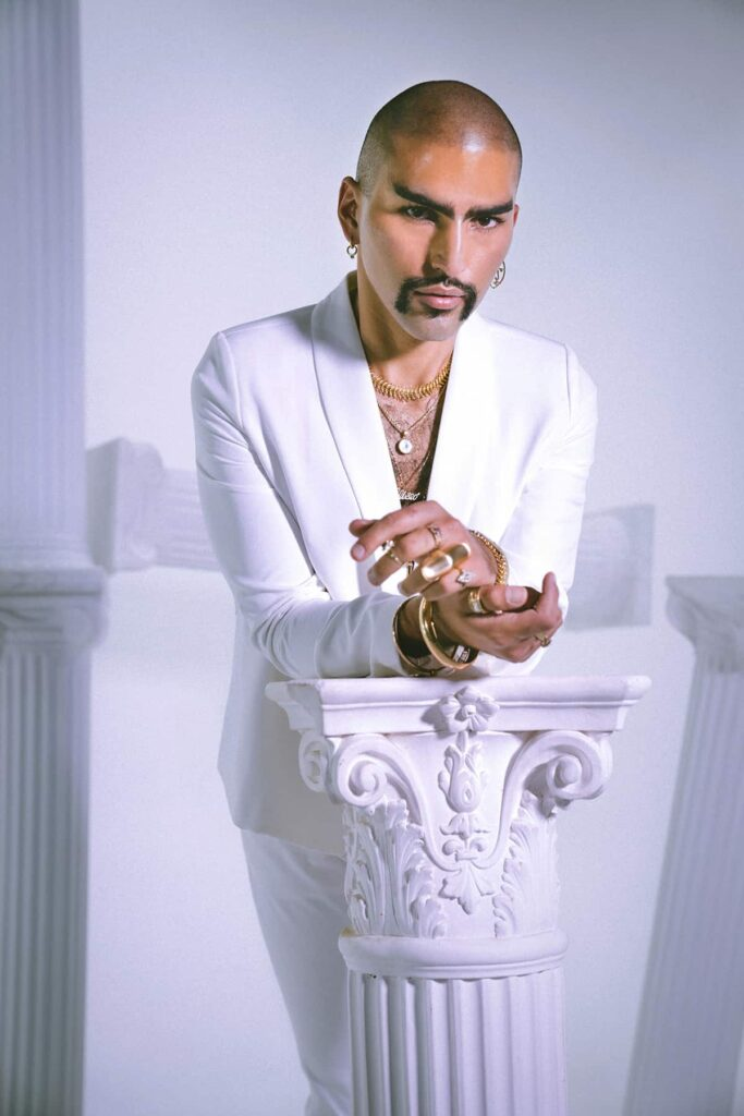 Eliseo tainted magazine article studio shoot by castro frank